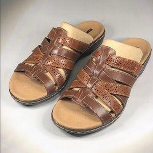 (p258) Clarks Leisa Field Women's Shoes 9M